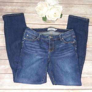 Torrid Jeans Medium Wash Long Size 10 Straight Fit